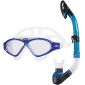 Kit Mergulho Profissional Speedo Mascara + Snorkel